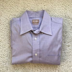 Men's Purple Dress Shirt by Gitman Bros